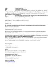 Danish national police e-mail