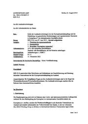 AA Auslandsvertretungen Korruption
