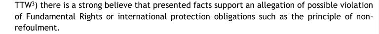interner Frontex-Bericht zu Pushback