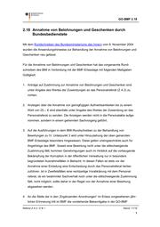 BMF Geschäftsordnung Ziffer 218