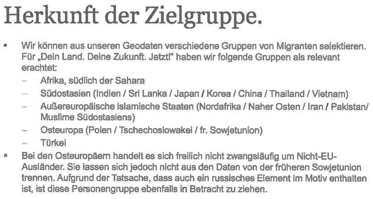 """Der """"Geomarketingansatz"""""""