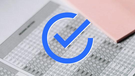 Banner Selt-Audit für Informationsfreiheit: große Checkbox über Fragebogen
